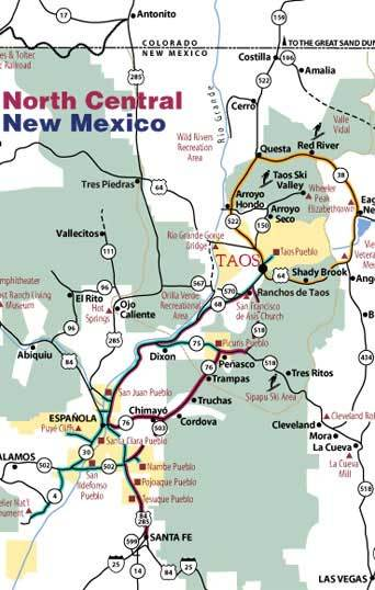 Getting to Red River map